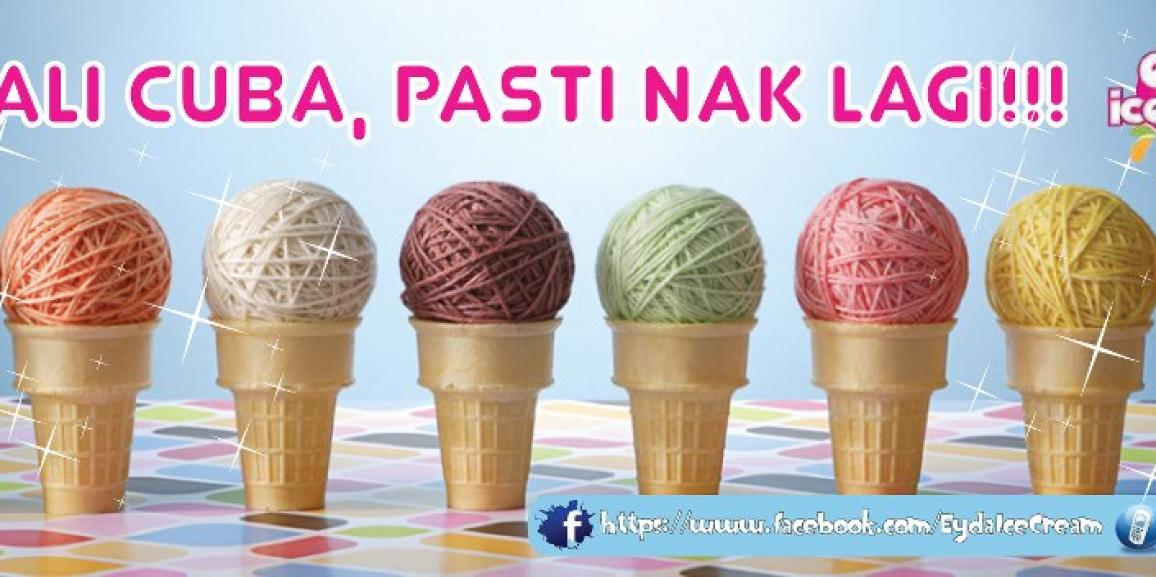 Eyda Ice Cream Sasar Tambah Francaisi