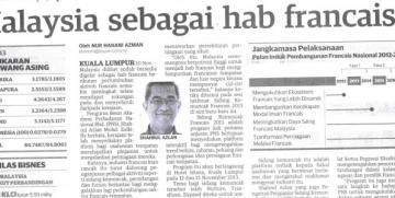 Industri Francais Malaysia Terus Kukuh – Hasan Malek